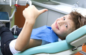 Boy at Dentist Picture